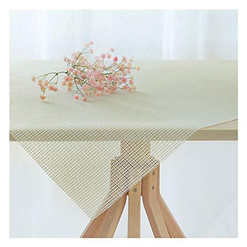 Rutschfeste PVC-Tischdeckenunterlage, Verstellbar in Der Größe, Antirutschmatte für Teppiche, Schränke, Badezimmer, Küche, Schubladen, Auto Kofferraum,100X140CM