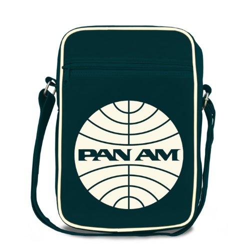 Logoshirt Pan AM Cabin Bag Medium Fake uniseks-volwassene Messenger Tas (2-Pack)