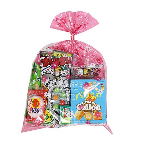 花柄袋 210円 お菓子 詰め合わせ(Bセット) 駄菓子 袋詰め おかしのマーチ