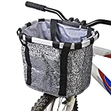 KNFBOK - Cesta Plegable Multiusos para Bicicleta, Organizador de Coche...