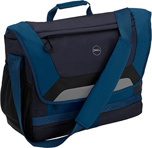 Dell Energy 17-inch Messenger Carry Case (Black/Blue)