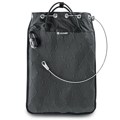 Pacsafe Travelsafe 12L - Mobiler Safe mit TSA-Zahlen Schloß, Trage-Tasche mit...