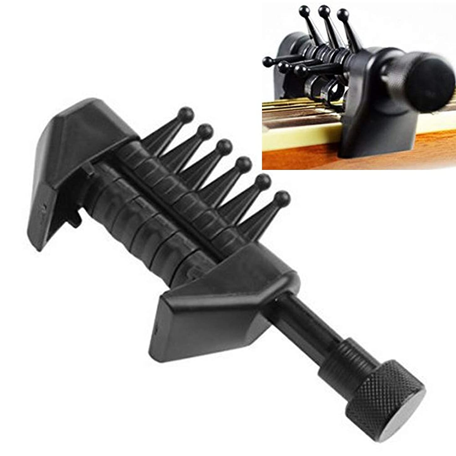 Guitar Capo Acoustic Guitar Capo Clamp Accessories Quick Release for Ukulele, Acoustic and Electric Guitar (Black)