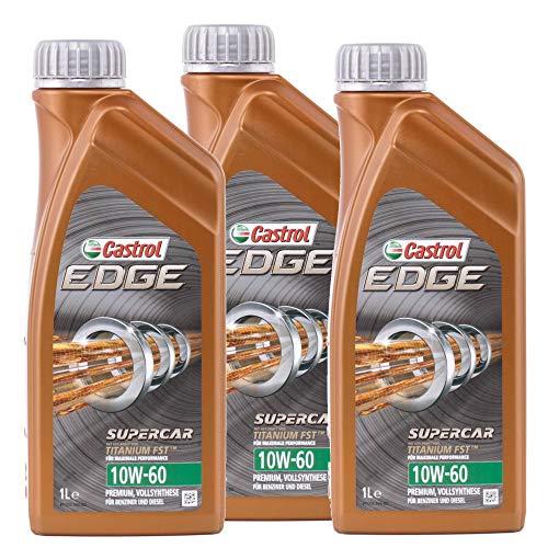 Castrol Edge Supercar 10W-60 3x1 Liter