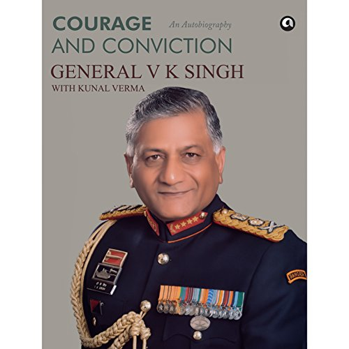 Courage and Conviction audiobook cover art