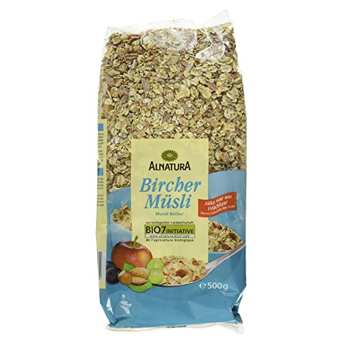 Alnatura Bio Bircher-Müsli, Vegan, 500g