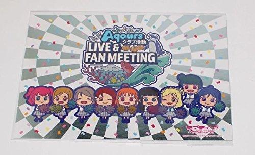 ラブライブ サンシャイン キラキラ ポストカード クラブ活動LIVE& FAN MEETING Aqours CLUB ファンミ 非売品 会場限定