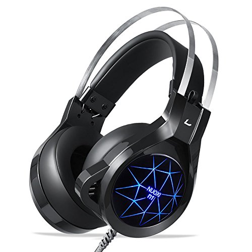 Find Cheap NUOXI N1 Gaming Headset,3.5mm Wired Bass Stereo Noise Isolation with Microphone 7 Colour ...