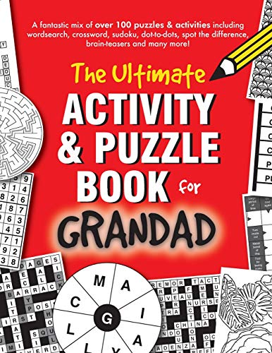 The Ultimate Activity & Puzzle Book for Grandad