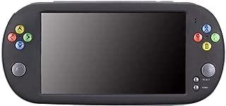 IMSHI Handheld Game Console, PSP X16 Large Screen 7inch HD 32G 1800mhA Handheld GBA Arcade Game NES Nostalgic FC Classic Portable Handheld Game Console - Black