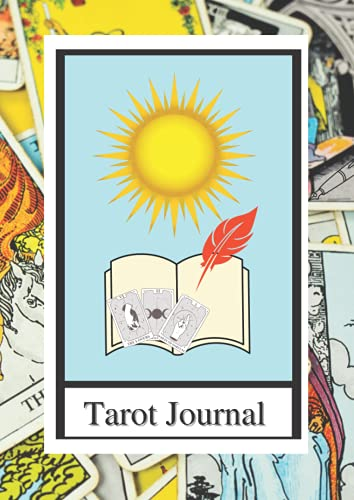 Large Tarot Journal - Celtic Cross Spread - Tree of Life Spread - 10 Card Spread - A4: Record your 10-card draws and comment with hindsight to improve tarot practice.