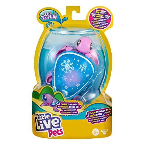 Little Live Pets Lil' Turtle Snowbreeze-Muñeco de Nieve (Paquete Individual) (Moose Toys 26329)