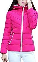 hot pink puffer jacket women's