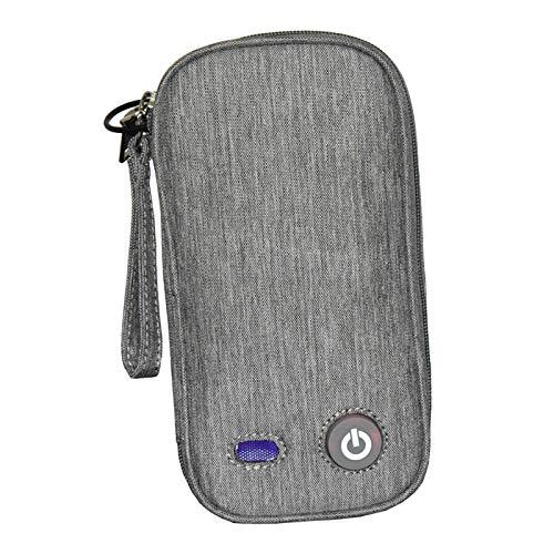dailymall UV Sterilisator Box für Maske Kosmetik Led UVC Desinfektion Tasch