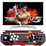 Arcade Game Console 1080P 3D & 2D Games 4500 in 1 Pandora Box 2 Players Arcade Machine with Arcade Joystick Games for PC/Laptop/TV / PS4 (KOF)