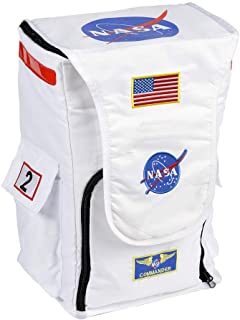 ab326dbde0c Aeromax Jr. Astronaut Backpack, White, with NASA patches