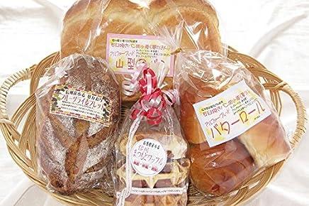 JA全農長野 加工組合さくら信州産小麦(夢かおり)まつもとワッフル&贅沢小麦パンセット 4種