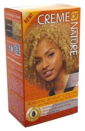 Creme Of Nature Color #10.01 Blond gingembre brillant (lot de 3)