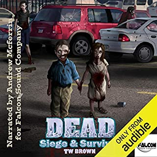 DEAD: Siege & Survival audiobook cover art