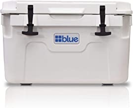 Blue Coolers Companion Cooler – 30 Quart, Roto-Molded Ice Cooler | Large Ice Chest Holds Ice up to 10 Days | White