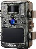 Campark Wildkamera 16MP 1080P No Glow Night Vision 940nm Überwachungskamera Jagdkamera Sicherheit Bewegungsaktivierte Kamera mit 2.4 'LCD und IP66 Wasserdich