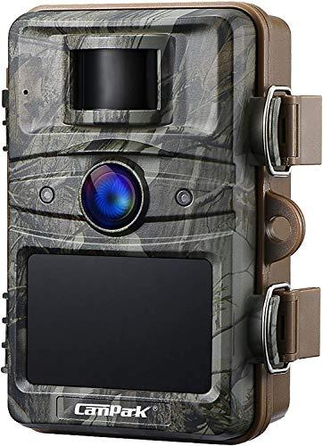 """Campark Wildkamera 16MP 1080P No Glow Night Vision 940nm Überwachungskamera Jagdkamera Sicherheit Bewegungsaktivierte Kamera mit 2.4 \""""LCD und IP66 Wasserdich"""