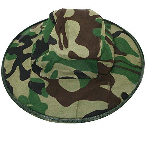 Gosear® Apiculteur Camouflage Anti Moustique Bee Bug Insecte Mouche Masque Seau Chapeau Bonnet