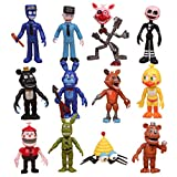 Five Nights at Freddy's おもちゃセット 12個 アクションフィギュア ギフト ケーキトッパー