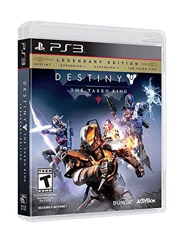 Activision Destiny: The Taken King Legendary Edition, PS3 PlayStation 3 Inglés vídeo - Juego (PS3, PlayStation 3, FPS (Disparos en primera persona), T (Teen), Inglés, Bungie, Activision)