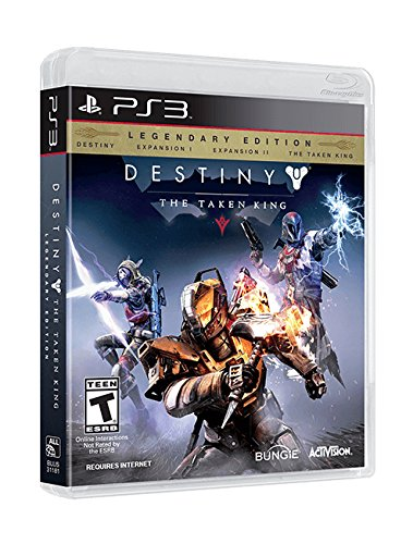 Activision Destiny: The Taken King Legendary Edition, PS3 PlayStation 3 Inglés vídeo - Juego (PS3, PlayStation 3, FPS (Disparos en primera persona), T (Teen), Inglés, Bungie, Activision)