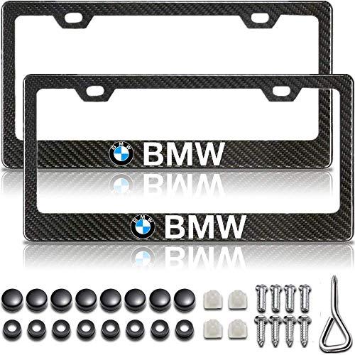 BMW License Plate Frame, Carbon Fiber License Plate Frame, BMW Accessories, BMW Plate Frame, Black License Plate Frame, License Plate Frame BMW, License Plate Frame Black, Metal License Plate Frame