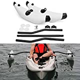 Lixada Kayak Stabilization System, Kayak PVC Inflatable Outrigger Float with...