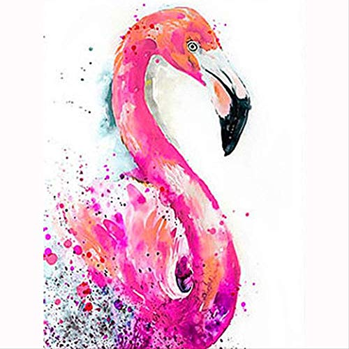 5d DIY diamant borduurwerk roze Flamingo diamant schilderij kruis steek volledige vierkante strass mozaïek decoratie cadeau