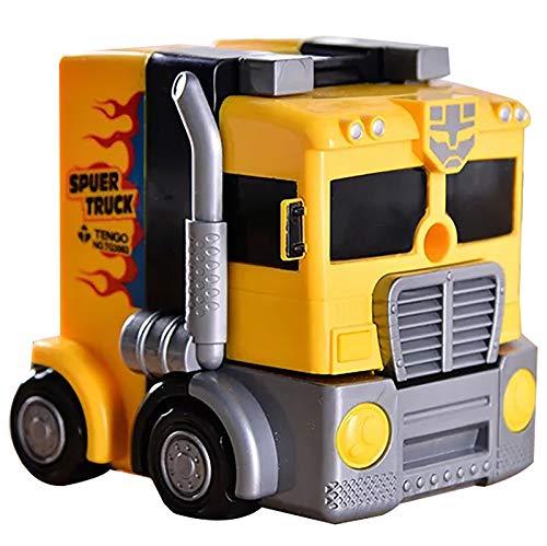 Petit taille-crayon mini Taille-crayon, Conception De Bouton De Stylo De Clip De Forme De Grand Camion Autobot, Boîte De Ferraille De Stylo De Grande