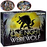 HFSKJWI Card Board Games,One Night Ultimate Werewolf Party Game - 3 A...