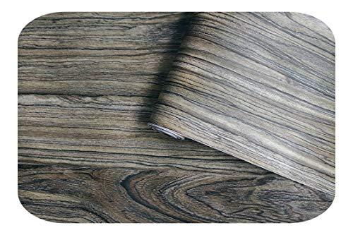 Kinder Wandaufkleber, 45cm * 6m Vintage Faux Holz Tapete Für Wände Vinyl Selbstklebende Tapete 3d Für Schlafzimmer Wohnzimmer Schreibtisch Wanddekoration-C-0,45x6m