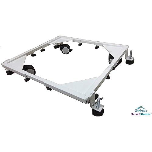 Smart Shelter Heavy Duty Adjustable Front & Top Loading Washing Machine/Refrigerator/Fridge/Dishwasher Trolley/Stand