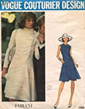 Vintage VOGUE COUTURIER DESIGN PATTERN #1065 SIZE: 14 ***MISSES' DRESS** A Fabiani Pattern