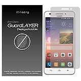 1x Huawei Ascend G620S - Bildschirm Schutzfolie Matt Folie Schutz Bildschirm Anti Glare Screen Protector Bildschirmfolie - RT-Trading