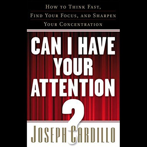 Can I Have Your Attention audiobook cover art