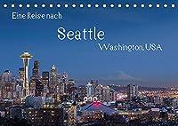 Eine Reise nach Seattle (Tischkalender 2022 DIN A5 quer): Seattle, groesste Stadt des Nordwestens der USA. Vielfaeltig, gruen und industriell. (Monatskalender, 14 Seiten )