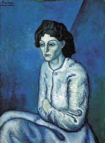 """Femme aux Bras Croisés - Pablo Picasso. Art Print Poster (14"""" x 10"""")"""
