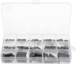 Shat Key Keyway Kit Ronde Ended Veer Sleutel Shat Sleutel Motor As Veer Sleutel Set Parallelle Aandrijfas 3-6mm 140PCS Zwart