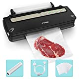 FIMEI Vacuum Sealer Machine, Automatic Food Saver 6 in 1, Dry/Wet Food Vacuum Sealer, with Built-in...