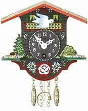 Reloj en miniatura de la selva negra casa suiza TU 16 P