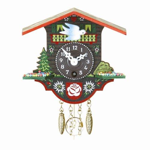 ISDD relojes cucú Reloj en miniatura de la selva negra casa suiza TU 16 P