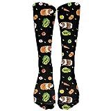 iuitt7rtree NEW Cute Cartoon Mustache Athletic Tube Stockings Women Men Classics Knee High Socks Sport Long Sock (Long 50cm soft 5224 -
