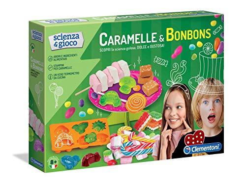 Clementoni-19129 Scienza Caramelle e Bonbons, Gioco scientifico, 19129, Multicolore
