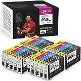 20 Pack LEMERO UEXPECT 29XL Compatible Epson 29XL 29 T2991 T29XL T29 Cartucho de Tinta para Epson xp 342/xp 442/xp 235/xp 247/xp 255/xp332/xp 352/xp 245/xp 452/xp432/xp 355/xp 455/xp 445/xp-345/xp 257
