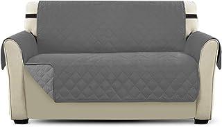 comprar comparacion PETCUTE Cubre Sofa Fundas de Sofa para Perros Protector de sofá Dos plazas Gris